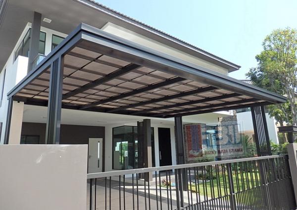 Harga Kanopi Solartuff Model Minimalis