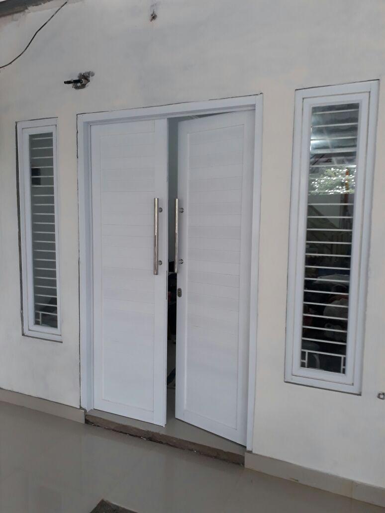 harga pintu panel aluminium