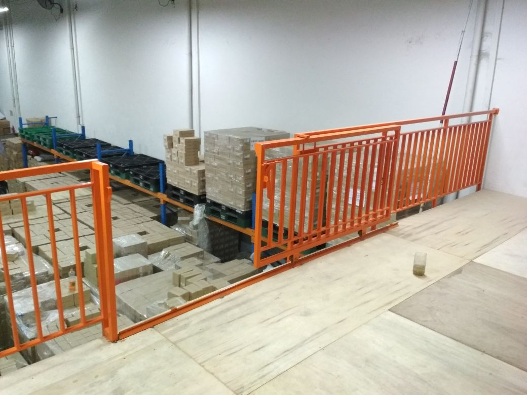 harga railing tangga besi galvanis